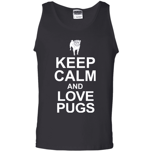 Keep Calm And Love Pugs Men Tee - STUDIO 11 COUTURE