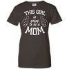 Image of This Girl Is Going To Be A Mom Ladies Tee - STUDIO 11 COUTURE
