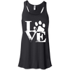 Image of Love With Paws Ladies Tee
