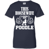 Image of This Housewife Loves Her Poodle Ladies Tee - STUDIO 11 COUTURE
