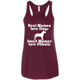 Smart Women Love Pitbulls Ladies Tee - STUDIO 11 COUTURE
