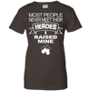 Image of Heroes I Raised Mine Ladies Tee