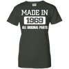 Image of Made In 1969 Ladies Tee - STUDIO 11 COUTURE