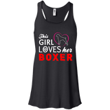 This Girl Loves Her Boxer Ladies Tee - STUDIO 11 COUTURE