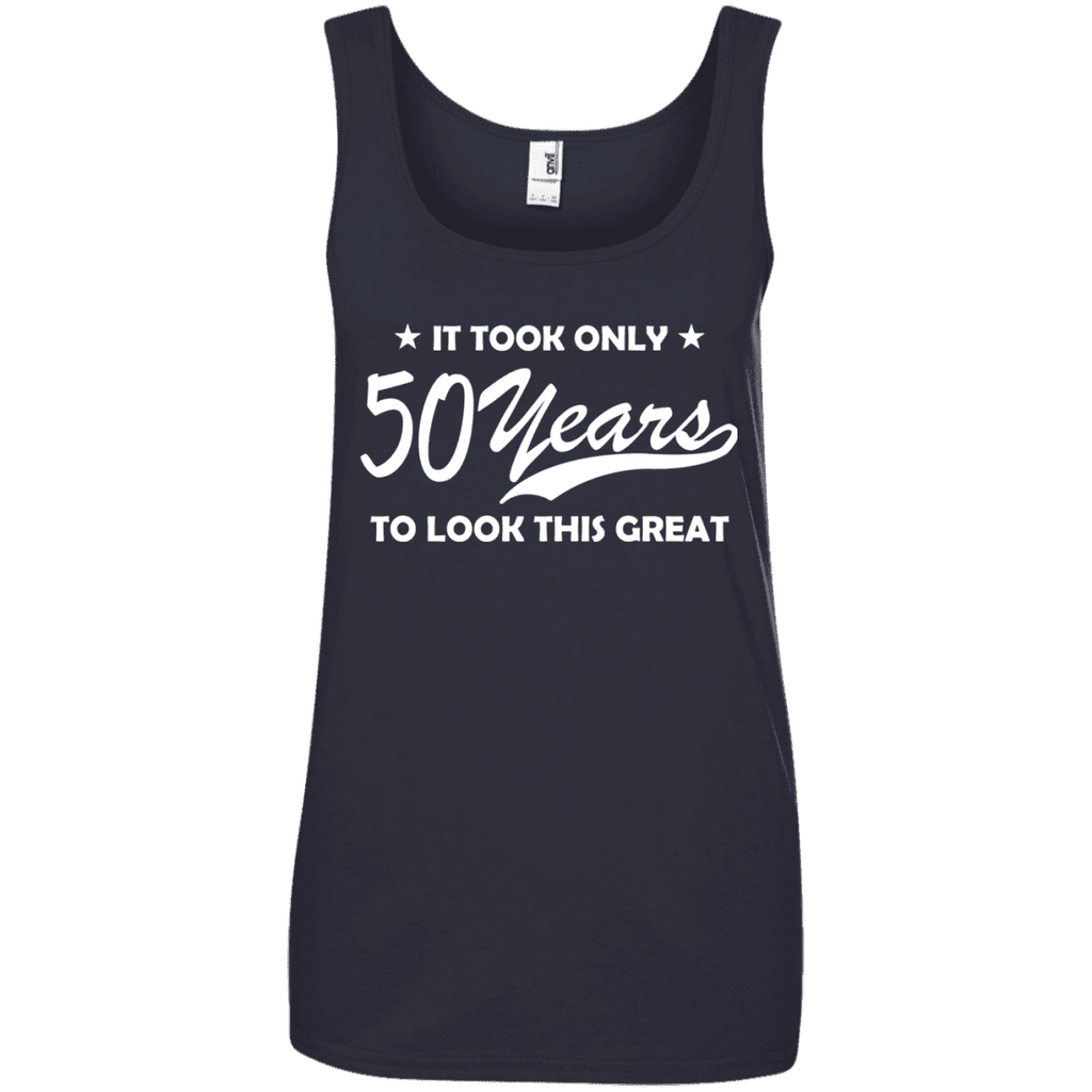 It Took Only 50 Years Ladies Tee - STUDIO 11 COUTURE