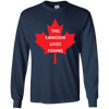 Image of Canadian Loves Fishing Men Tee - STUDIO 11 COUTURE