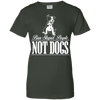 Image of Ban People Not Dogs Ladies Tee - STUDIO 11 COUTURE