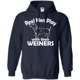 Real Men Play With Their Weiner Men Tee - STUDIO 11 COUTURE