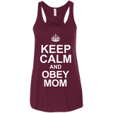 Keep Calm And Obey Mom Ladies Tee - STUDIO 11 COUTURE