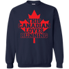Image of This Canadian Loves Running Men Tee - STUDIO 11 COUTURE