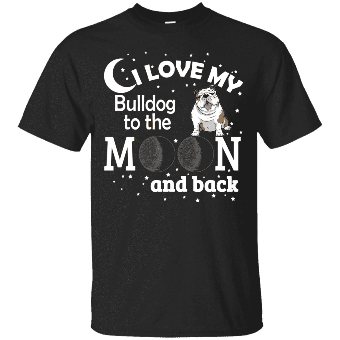 I Love My Bulldog Men Tee - STUDIO 11 COUTURE