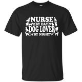 Nurse By Day Dog Lover By Night Men Tee - STUDIO 11 COUTURE