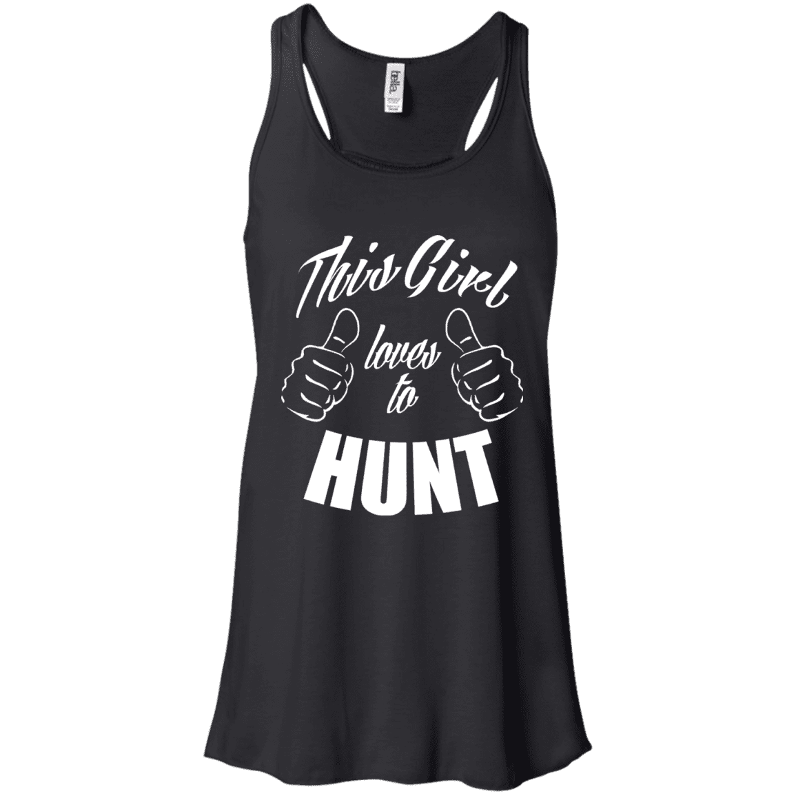 This Girl Loves To Hunt Ladies Tee - STUDIO 11 COUTURE