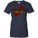 My Body My Choice With Roses Ladies Tee - STUDIO 11 COUTURE