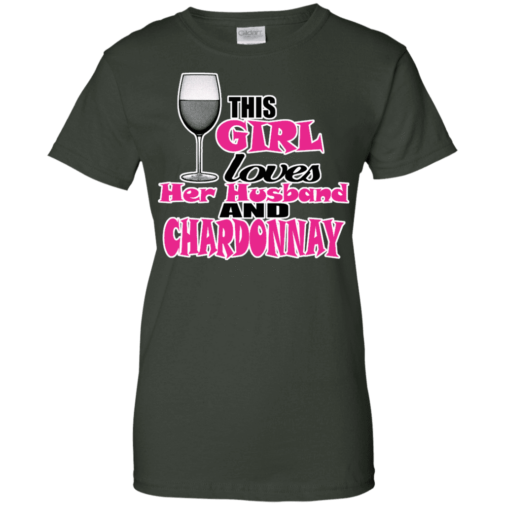 This Girl Loves Her Husband Ladies Tee - STUDIO 11 COUTURE