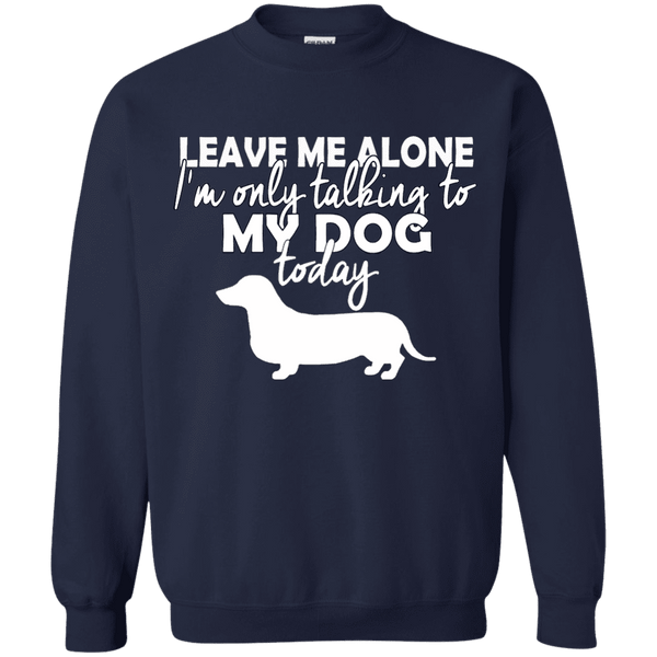 Leave Me Alone Duchshund Men Tee - STUDIO 11 COUTURE