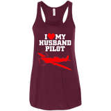 Husband Pilot Ladies Tee - STUDIO 11 COUTURE