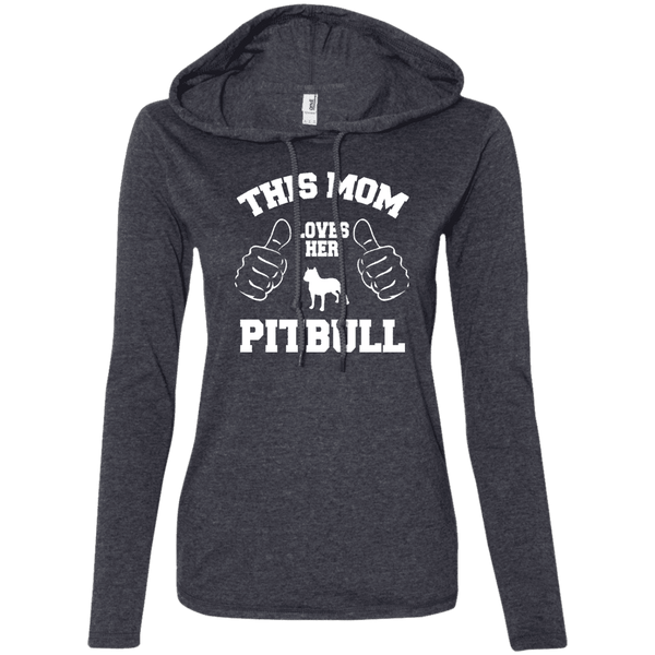 This Mom Loves Her Pitbull Ladies Tee - STUDIO 11 COUTURE