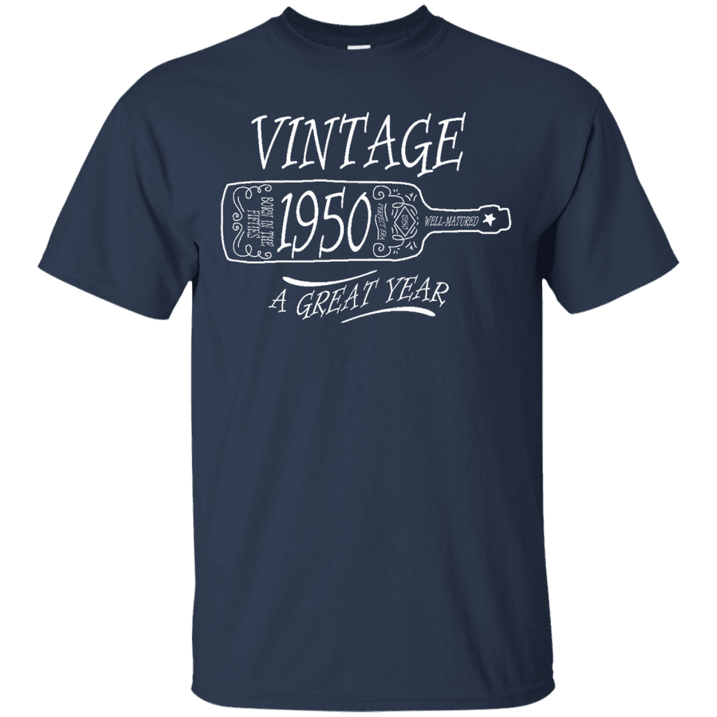 Vintage 1950 Men Tee - STUDIO 11 COUTURE