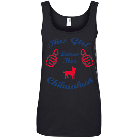 This Girl Love Chihuahua Ladies Tee