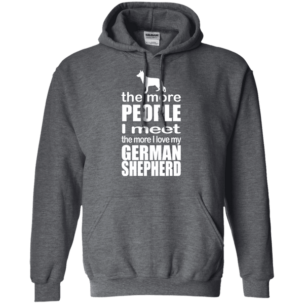 The More I Love My German Shepherd Men Tee - STUDIO 11 COUTURE