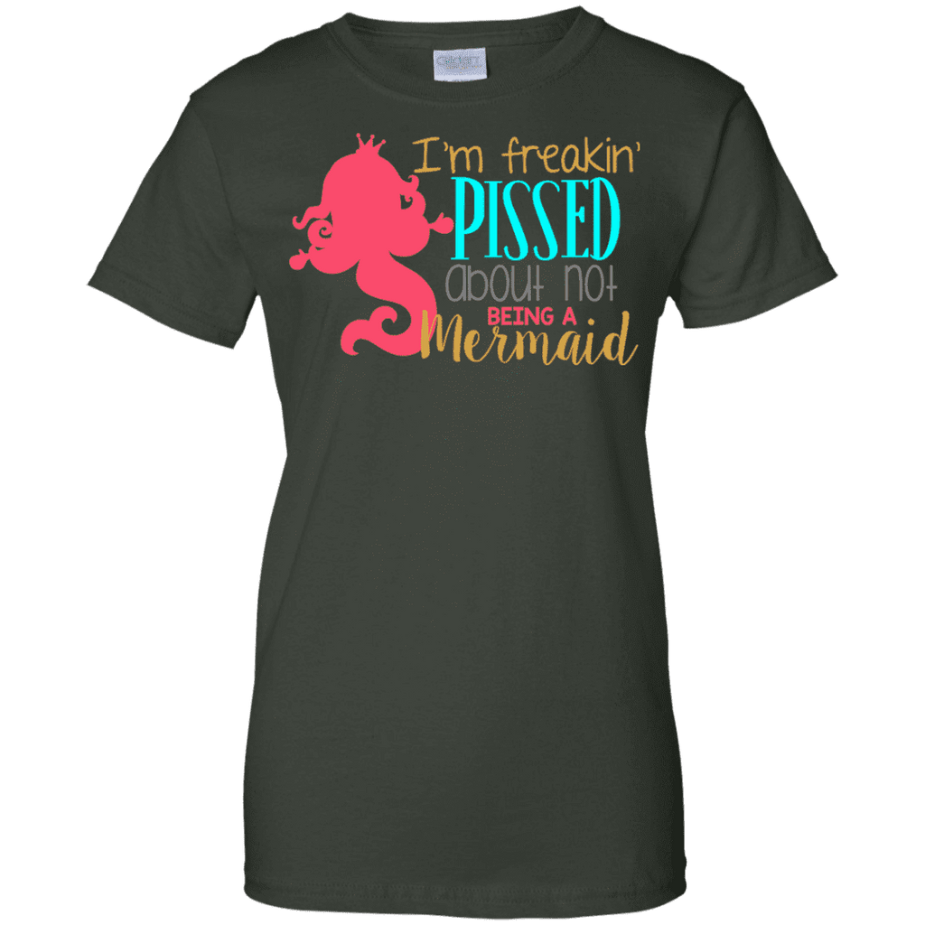 Not Being A Mermaid Ladies Tee - STUDIO 11 COUTURE