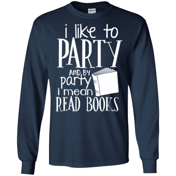 I Like Read Books Men Tee - STUDIO 11 COUTURE
