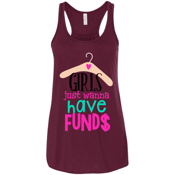 Girls Just Wanna Have Funds Ladies Tee - STUDIO 11 COUTURE