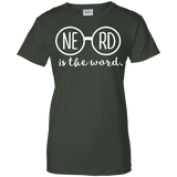 Nerd Is The Word Ladies Tee - STUDIO 11 COUTURE