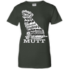 Image of Mutt White Ladies Tee - STUDIO 11 COUTURE