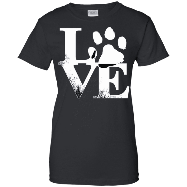 Love With Paws Ladies Tee