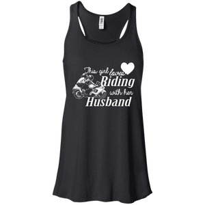 This Girl Loves Riding With Her Husband Ladies Tee - STUDIO 11 COUTURE
