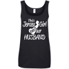 Image of Jersey Girl Loves Her Husband Ladies Tee - STUDIO 11 COUTURE