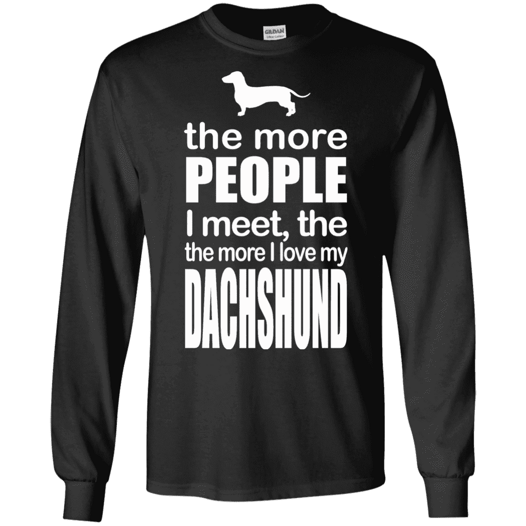 More People Loves Dachshund Men Tee - STUDIO 11 COUTURE
