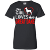 Image of This Girl Love Her Great Dane Ladies Tee - STUDIO 11 COUTURE
