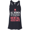 Image of All Women Created Equal Dental Assistant Ladies Tee