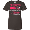 Image of Fire Fighter Mom Ladies Tee
