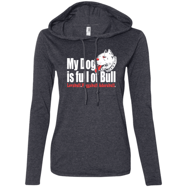 My Dog is Full Of Bull Ladies Tee - STUDIO 11 COUTURE