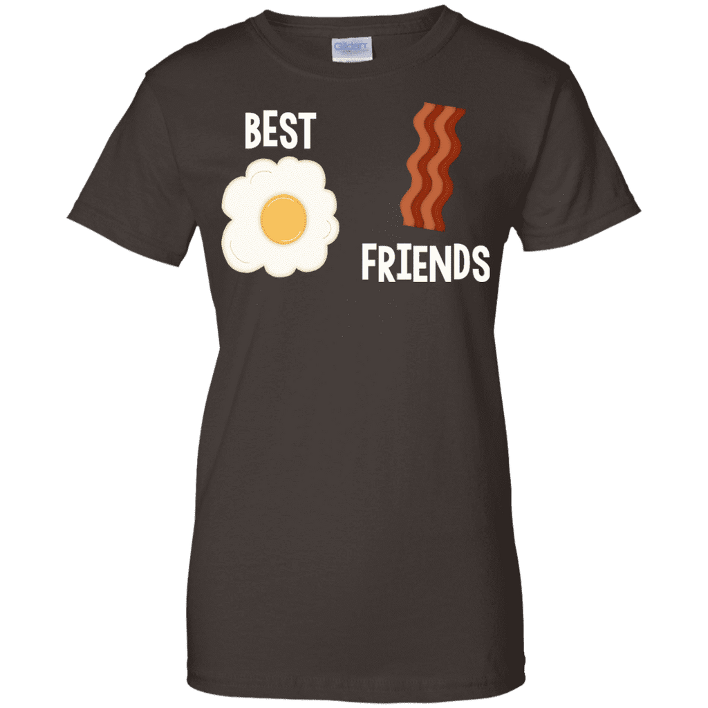 Best Friends Egg And Bacon Ladies Tee