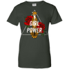 Image of Girl Power Leopard Ladies Tee - STUDIO 11 COUTURE