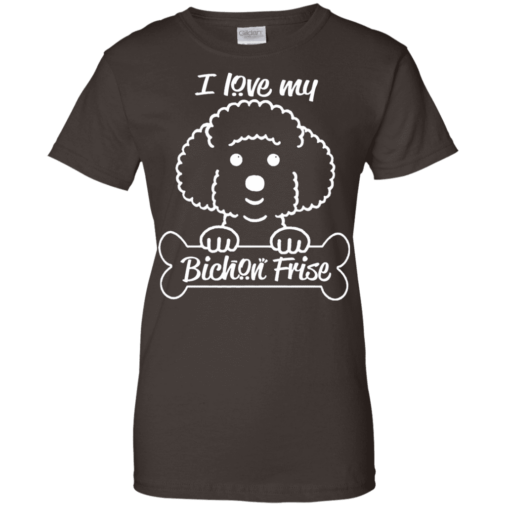 Bichon Frise Ladies Tee - STUDIO 11 COUTURE