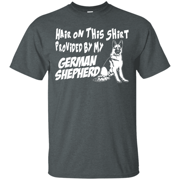 Hair On This Shirt German Shepherd Men Tee - STUDIO 11 COUTURE