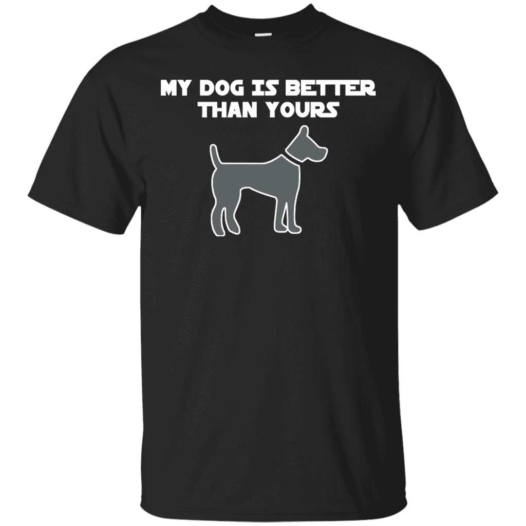 My Dog Is Better Than Yours Men Tee - STUDIO 11 COUTURE