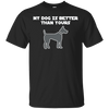 Image of My Dog Is Better Than Yours Men Tee - STUDIO 11 COUTURE