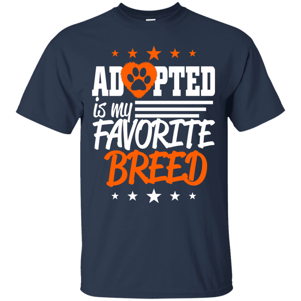 Adopted Is My Favorite Breed Men Tee - STUDIO 11 COUTURE