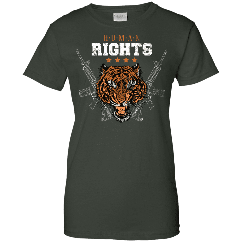 Human Rights Ladies Tee - STUDIO 11 COUTURE
