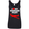 Image of Husband Pilot Ladies Tee - STUDIO 11 COUTURE