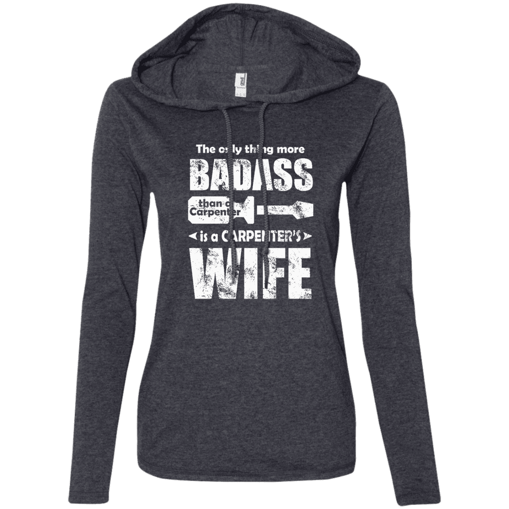 Bad-ass Carpenter's Wife Ladies Tee - STUDIO 11 COUTURE