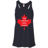 Image of Canadian Loves Fishing Ladies Tee
