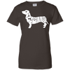 Image of Dachshund Ladies Tee - STUDIO 11 COUTURE